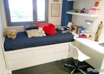 habitacion juvenil blanca cama nido en granada decuore