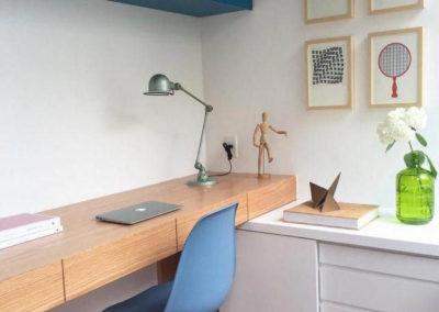 habitaciones con escritorios para niños