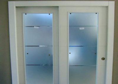 puertas en granada correderas con cristales decuore