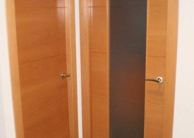 puertas en granada de interior madera modernas decuore