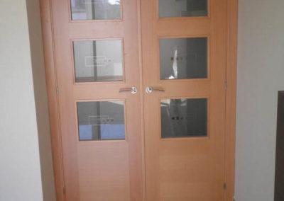 puertas en granada de interior modernas cristales