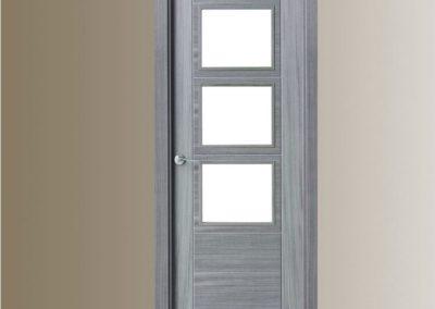 puertas en granada grises de interior cristales