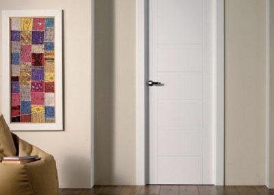 puertas lacadas modernas en granada