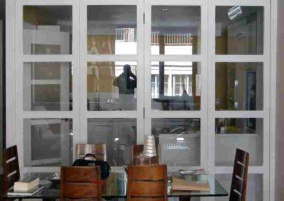 puertas plegables con cristales a medida decuore