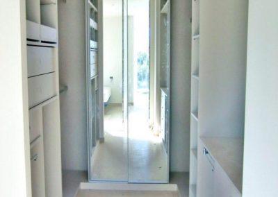 vestidor con espejo puertas decuore