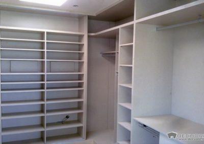 vestidores y armarios abiertos en decuore