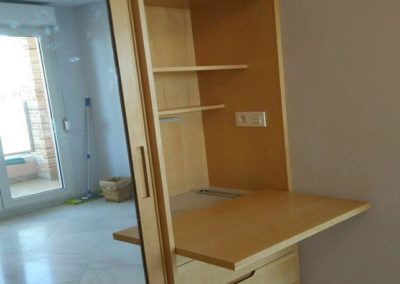 armarios empotrados con despacho dormitorios matrimonio